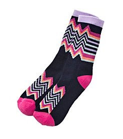 High Point Zig Zag Inner Happiness Socks