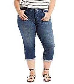 Levi's® Plus Size Shaping Capri Pants