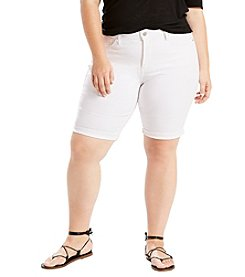 Levi's® Plus Size Shaping Bermuda Shorts