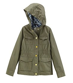 Jessica Simpson Girls' 7-16 Printed Anorak Jacket