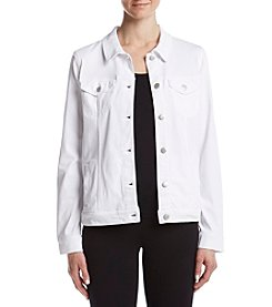 Bandolino® Sarah Knit Twill Jacket