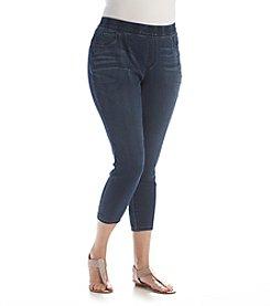 Bandolino® Plus Size Thea Pull On Legging Crop Pants