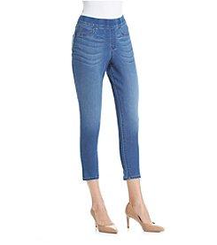 Bandolino® Thea Pull-On Legging Denim Crop Pants