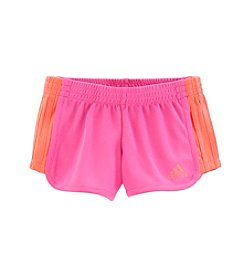 adidas® Girls' 2T-6X Block Mesh Shorts