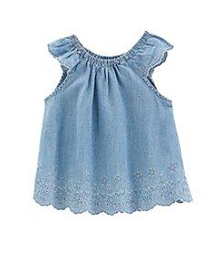 OshKosh B'Gosh® Girls' 2T-4T Eyelet Swing Top Dress