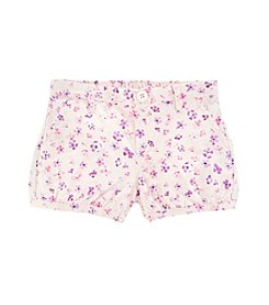 OshKosh B'Gosh® Girls' 2T-4T Floral Bubble Shorts