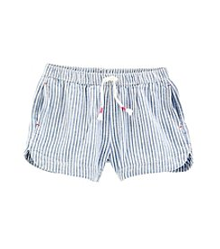 OshKosh B'Gosh® Girls' 4-8 Striped Hickory Shorts