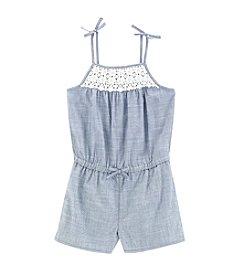 OshKosh B'Gosh® Girls' 4-8 Crochet Yoke Romper