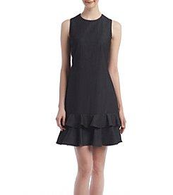 Calvin Klein Flounce Dress