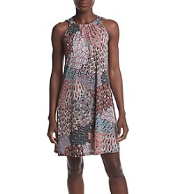 Prelude® Petites' Paisley Swing Dress