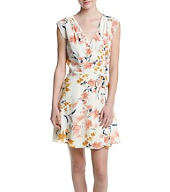 A. Byer Floral Wrap Dress