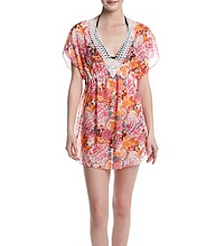 Miken® Floral Print Coverup