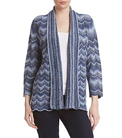 Alfred Dunner® Chevron Sweater