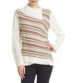 Alfred Dunner® Stripe Sweater