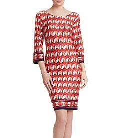 AGB® Geo Border Dress