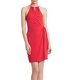 Jessica Simpson Bungee Neck Dress
