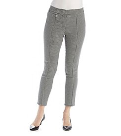 Rafaella® Petites' Power Stretch Jacquard Pants