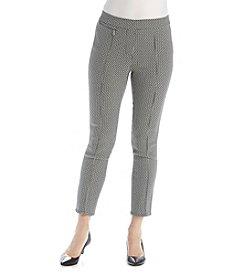 Rafaella® Petites' Power Stretch Jacquard Pants