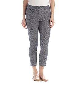 Rafaella® Petites' Jacquard Ankle Pants