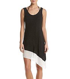 Calvin Klein Asymmetrical Dress Coverup