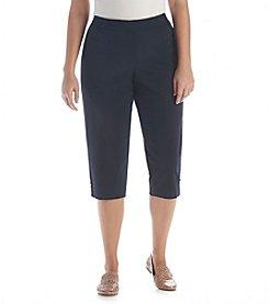 Rafaella® Plus Size Slim Capri