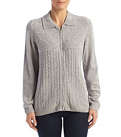 Alfred Dunner® Chenille Sweater