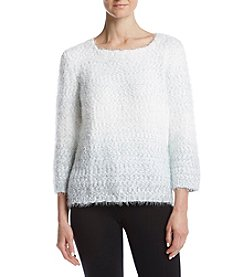 Alfred Dunner® Textured Sweater