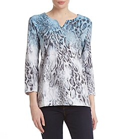 Alfred Dunner® Ombre Tee