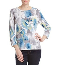 Alfred Dunner® Print Sweater