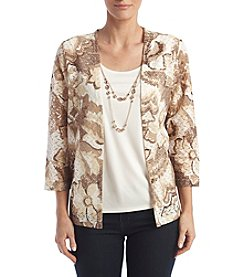 Alfred Dunner® Layered Look Top