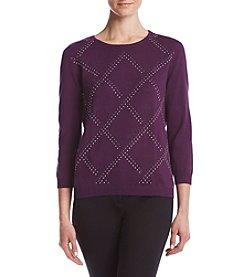 Alfred Dunner® Diamond Sweater