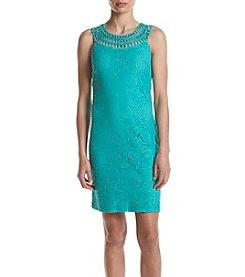 Jessica Howard® Crochet Lace Shift Dress