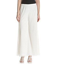 MSK® Sparkle Mesh Wide Leg Pants