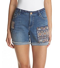 Vintage America Blues™ Claudia Bestie Embroidered Shorts