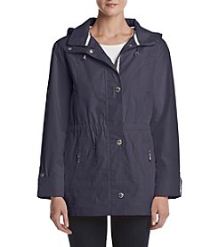 Mackintosh Petites' Solid Zip Front Anorak