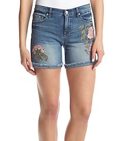 Vintage America Blues™ Floral Embroidered Shorts