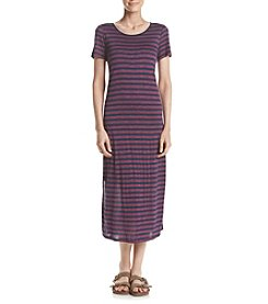 G.H. Bass & Co. Striped Midi Dress