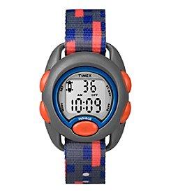 Timex® Kids Fabric Strap Watch