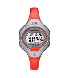 Timex® Women's IRONMAN® Traditional Core Orange Resin Strap Watch
