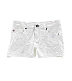 Vigoss® Girls' 7-16 Floral Garden Shorts