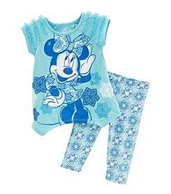 Disney® Girls' 2T-6X Minnie Pullover Set