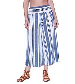 Skylar & Jade™ Stripe Gaucho Pants