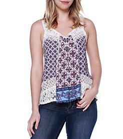 Skylar & Jade™ Crochet Swing Tank