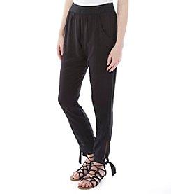 A. Byer Tie Bottom Pants