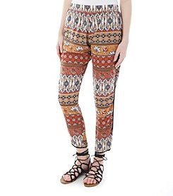 A. Byer Soft Paisley Pants