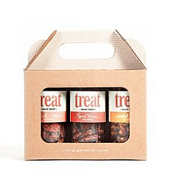 Treat Bake Shop 3-Jar Nut Gift Box