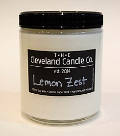 The Cleveland Candle Co. Lemon Zest Candle