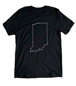 Hoosier Proud Simply Indiana Tee