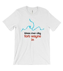 Hoosier Proud Three River City Tee