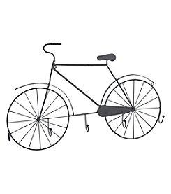 Transpac Art Metal Bicycle Wall Hooks